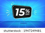 15  off. blue banner with... | Shutterstock .eps vector #1947249481