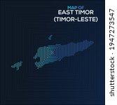 rectangular map of east timor.... | Shutterstock .eps vector #1947273547