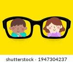 illustration of kids smiling... | Shutterstock .eps vector #1947304237