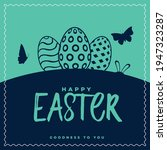 goodness to you.happy easter...   Shutterstock .eps vector #1947323287