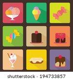 desserts flat icon