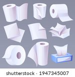cellulose production toilet... | Shutterstock .eps vector #1947345007