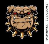 illustration of angry bulldog...   Shutterstock .eps vector #1947370951