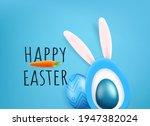 happy easter vector greeting... | Shutterstock .eps vector #1947382024