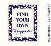 typography slogan in heart...   Shutterstock .eps vector #1947420697