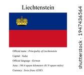 liechtenstein national flag ...   Shutterstock .eps vector #1947436564