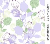 Sweet Purple Pastel Tulip...