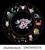 gemini of astrology design...   Shutterstock .eps vector #1947495574