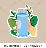 always pack a tumbler for your...   Shutterstock .eps vector #1947502987
