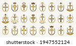 crosses secrets emblems vector...   Shutterstock .eps vector #1947552124
