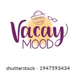 vector card with hand drawn... | Shutterstock .eps vector #1947593434
