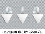 white realistic blank...   Shutterstock .eps vector #1947608884