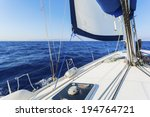 sailing boat  | Shutterstock . vector #194764721