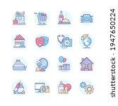 budget categories   line design ... | Shutterstock .eps vector #1947650224