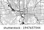 black and white vector... | Shutterstock .eps vector #1947657544