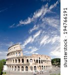 colosseum in rome  italy  | Shutterstock . vector #194766191