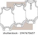 Jumpsuit. Baby Bodysuit Flat...