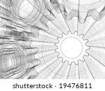 background industrial design....   Shutterstock . vector #19476811