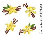 vanilla set. vector | Shutterstock .eps vector #194768951