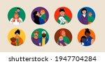 various families. family... | Shutterstock .eps vector #1947704284