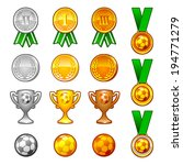 soccer sport medals and awards...