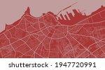 red vector background map ... | Shutterstock .eps vector #1947720991