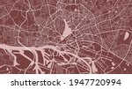 red vector background map ... | Shutterstock .eps vector #1947720994