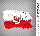 flag of  tyrol brush strokes. ...