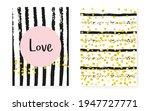 glamour texture. black cover.... | Shutterstock .eps vector #1947727771