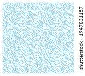 seamless pattern of blue waves. ... | Shutterstock .eps vector #1947831157