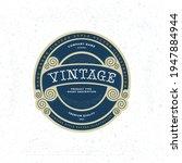 vintage style label... | Shutterstock .eps vector #1947884944