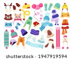 cartoon collection children... | Shutterstock .eps vector #1947919594