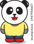 vector panda  perfect for icons ... | Shutterstock .eps vector #1947954607