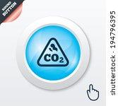 co2 carbon dioxide formula sign ...