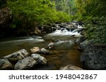 The Waterfall On The Ridge Of...