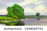 Oil Paintings Rural Landscape ...
