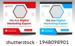 digital marketing social media... | Shutterstock .eps vector #1948098901