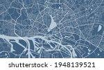 blue vector background map ... | Shutterstock .eps vector #1948139521