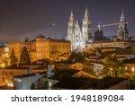 Night View Of Buildings In...