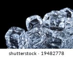 ice cubes | Shutterstock . vector #19482778