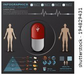 health and medical infographic... | Shutterstock .eps vector #194829431