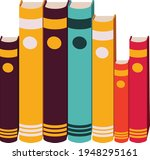 books notebooks reading list... | Shutterstock .eps vector #1948295161