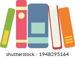 books notebooks reading list... | Shutterstock .eps vector #1948295164