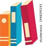 books notebooks reading list... | Shutterstock .eps vector #1948295191
