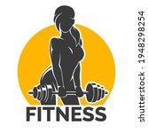 silhouette of training... | Shutterstock .eps vector #1948298254