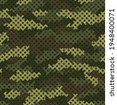 camouflage grid seamless... | Shutterstock .eps vector #1948400071