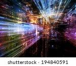 city lights series. interplay... | Shutterstock . vector #194840591