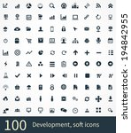 development icons vector set | Shutterstock .eps vector #194842955
