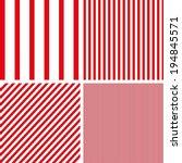 Patterns Set Of Stripes Patter...