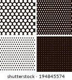 Vintage Polka Dots. Patterns...